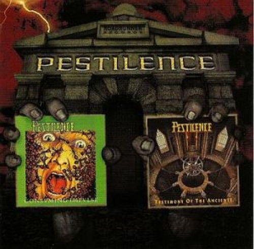 Pestilence - Consuming Impulse/Testimony of the Ancients CD Duplo nacional