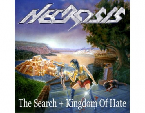 Necrosis - The Search + Kingdom of Hate (importado raro)