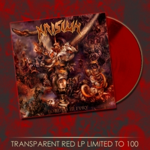 Krisiun - Forged in Fury (LP Duplo Importado Coloridos + CD)